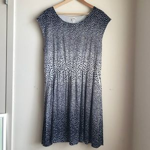 Gap Polka Dot Dress with Pockets Size XL